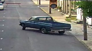 Shippensburg police are looking for this truck and its driver involved in a traffic incident during the annual Corn Festival on Aug. 26.