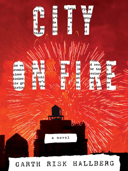 City on Fire book jacket