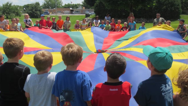 The Campbellsport Public Library's Summer Reading activities collectively drew a crowd of 2,083 kids. The library staff members enjoyed all the crazy Wednesdays this summer with the kids.