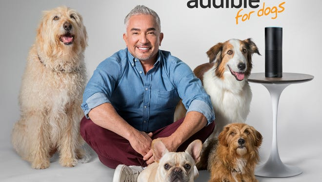 Audible is teaming up with Dog Whisperer Cesar Millan to get your dog to listen to classic literature.