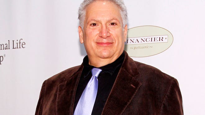 This May 16, 2014 file photo shows Harvey Fierstein at the 80th Annual Drama League Awards in New York. The 60-year-old is looking for a chance to return to the stage after some very successful years writing for the stage.