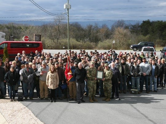 Workforce at Letterkenny Munitions Center proudly received the Superior Unit Award.
