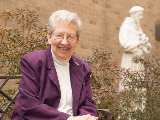 Sister Annice McClure of Green Bay continues to work