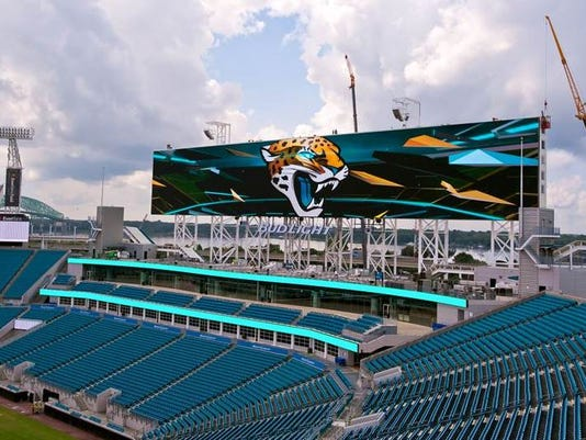 Jaguars video board