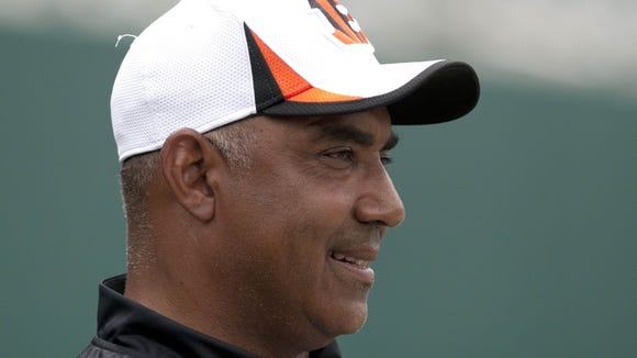 Marvin Lewis spoke with the media for the second time during training camp on Wednesday.