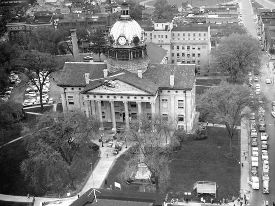 The Broome County Courthouse where the County Historian