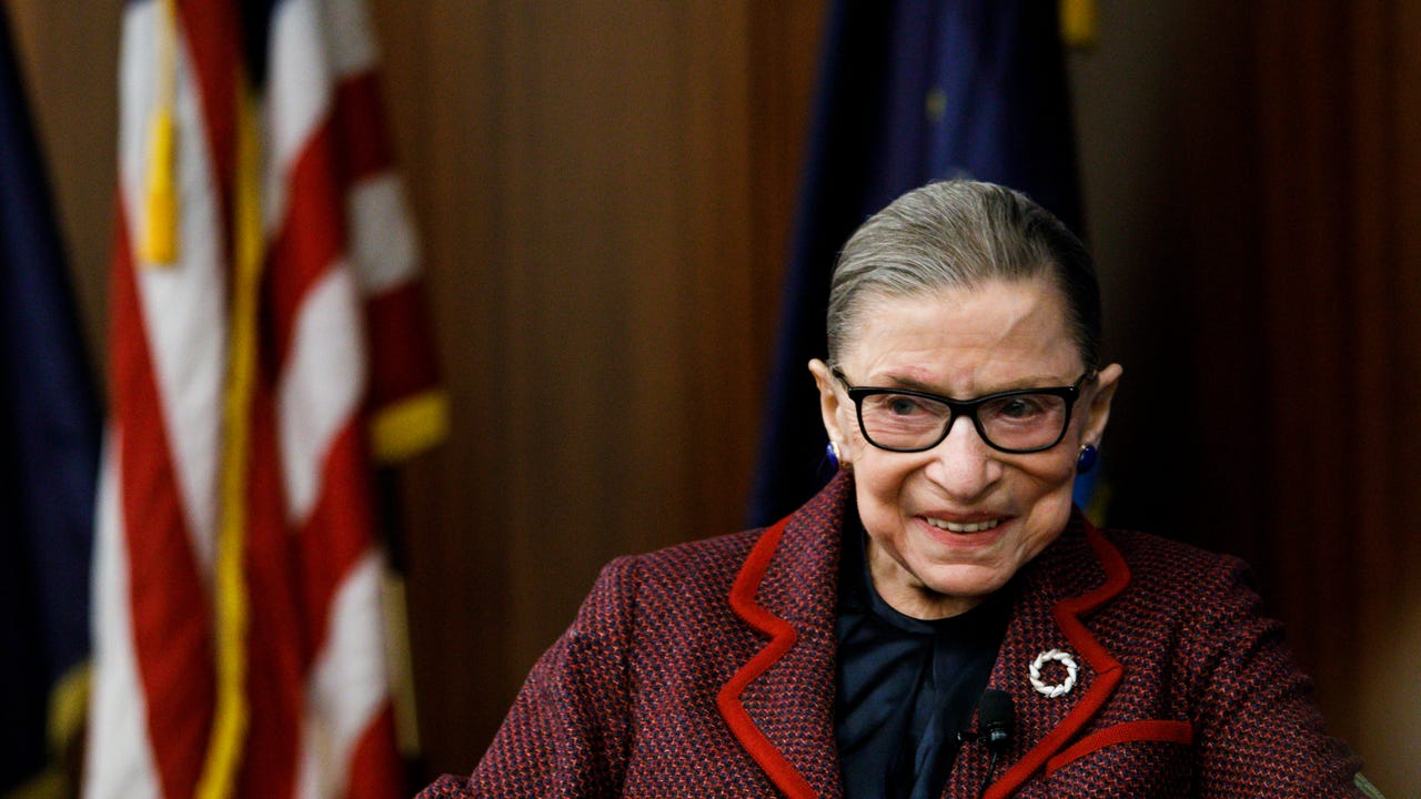 What Ruth Bader Ginsburg Learned Being A Mom