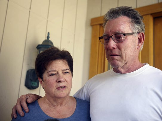 "Liz Sullivan and Jim Steinle, parents of Kathryn  ""Kate"""