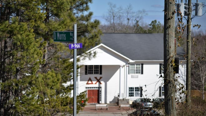 The Oconee County Sheriff's Office responded to a report of a sexual assault at the Delta Chi fraternity house, 205 D Morris Way in Seneca, in the early hours of Saturday, Jan. 27, 2018.