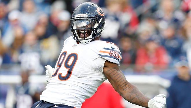 Bears DE Lamarr Houston.