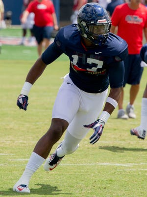 Redshirt freshman Willie Hibbler is hoping to make an impact at linebacker this season after switching there from tight end earlier this year.