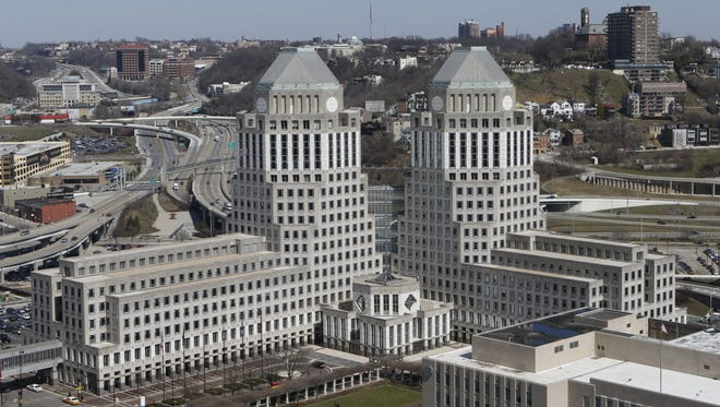 Procter & Gamble's corporate headquarters in downtown Cincinnati