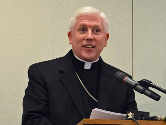 Bishop Daniel Thomas of the Toledo Catholic Diocese.
