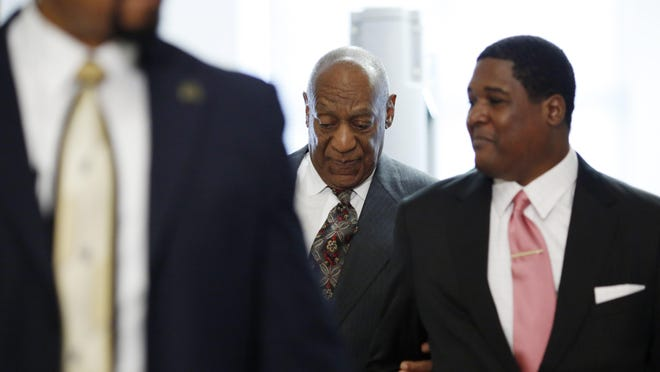 Comedian Bill Cosby arrives at the Montgomery County Courthouse for a preliminary hearing, related to assault charges, May 24, 2016, in Norristown, Pennsylvania. / AFP PHOTO / DOMINICK REUTERDOMINICK REUTER/AFP/Getty Images