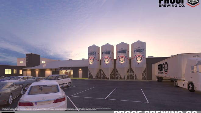 The transformation of the old Coca-Cola building into the new Proof Brewery will cost an estimated $6.17 million. Proof Brewing Company has asked the Tallahassee Community Redevelopment Agency for $450,000 to renovate the interior of their new location at 1320 S. Monroe St.