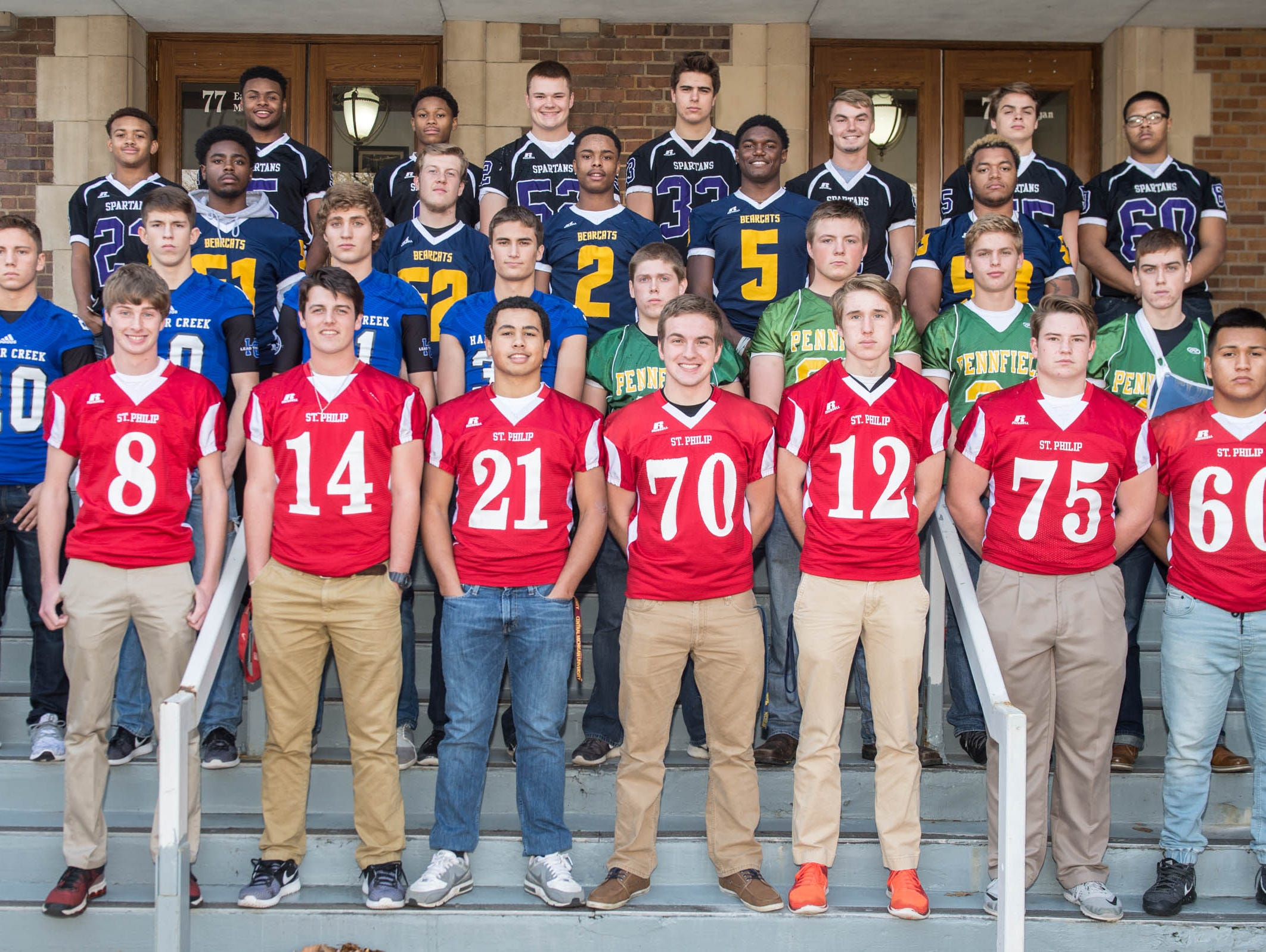The Enquirer All-City Football Team is made up of players from the five city schools and voted on by city coaches and the Enquirer sports staff