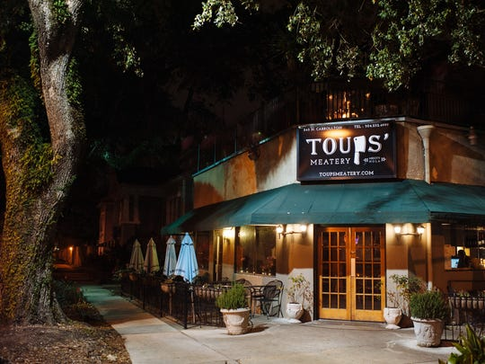 """Chef Isaac Toups, who opened Toups' Meatery in New Orleans, is a contestant on season 13 of Bravo TV's """"Top Chef."""""""