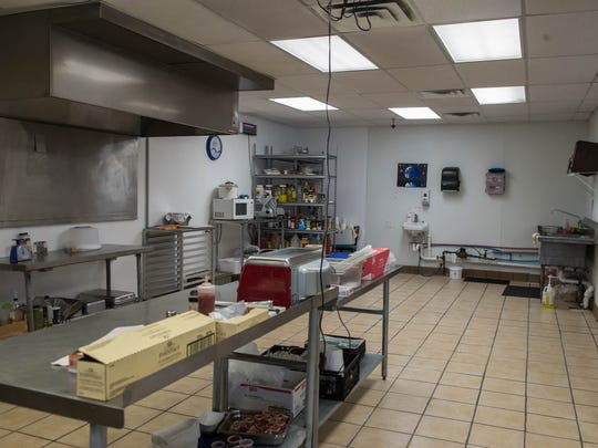 Open kitchen area for New York Grill.