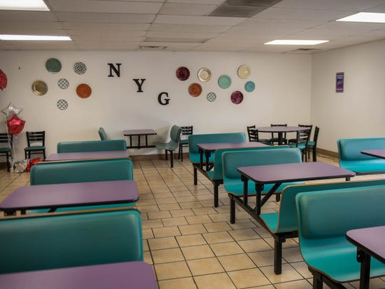Seating area for New York Grill.