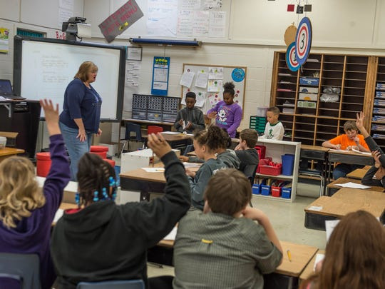 An Albion classroom scene.