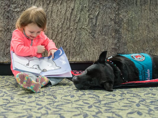 Paws for Friendship - Reading to a Dog