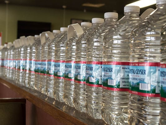 Flint water donations