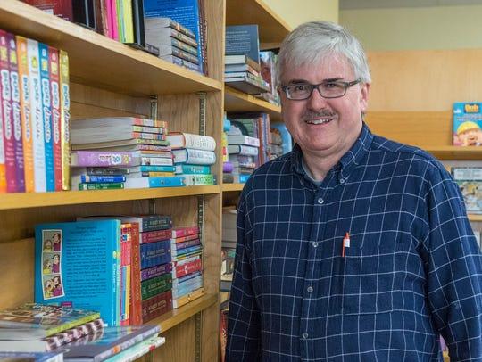 Battle Creek Books owner Jim Donahue.