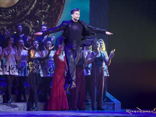 """""""Riverdance,"""" which is in the midst of its 20th-anniversary tour, comes to the Fox for five shows Friday-Sunday."""