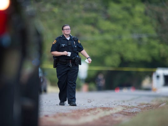 Montgomery Police Department officers are often seen walking the neighborhoods they patrol.