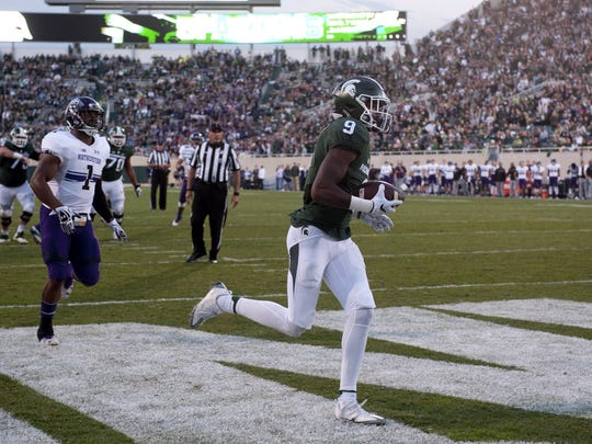 Donnie Corley's 9-yard touchdown catch from Tyler O'Connor