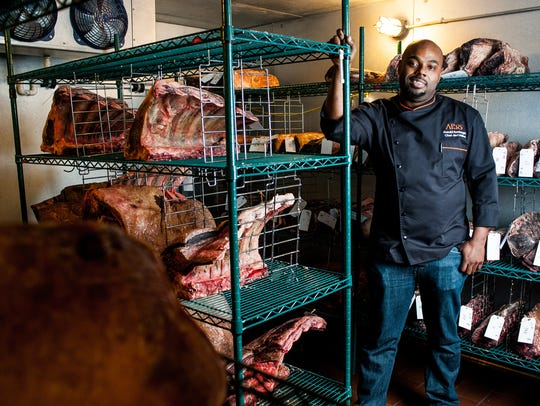 Chef Gerald Sombright stands in Ario in the Marco Island