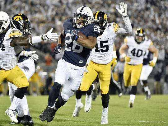 Saquon Barkley has been proclaimed ready for action