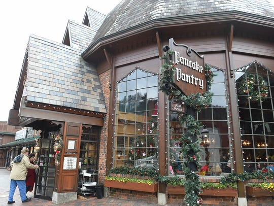 The Pancake Pantry in Gatlinburg on Friday, Dec. 9,