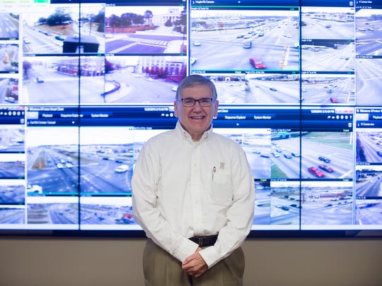 Bubba Bowden, Traffic Engineer director, stands in