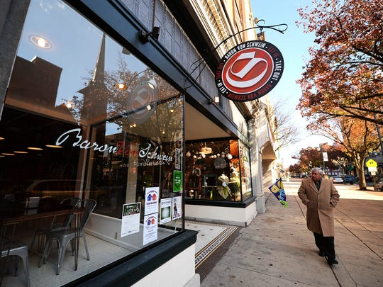 Baron Von Schwein on West Market Street in York will be rebranded in the coming weeks. The restaurant's name will be changed to Roost.