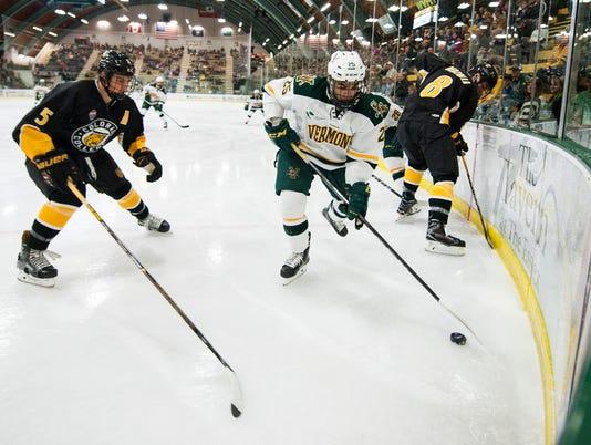 Colorado College vs. Vermont Men's Hockey 10/06/17