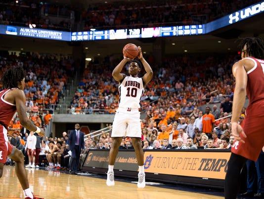 Men's Basketball: Auburn vs. Alabama