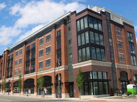 The five-story Montclarion at Bay Street Station in downtown Montclair has been recognized for environmentally-sensitive building practices and design.