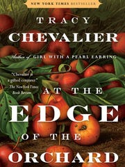 "The cover for Tracy Chevalier's novel ""At the Edge of the Orchard,"" to be released in paperback on Jan. 31."