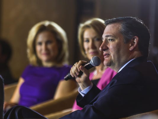 Ted Cruz, Heidi Cruz, Carly Fiorina