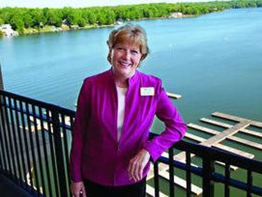 Vicki Gardner was shot Wednesday and hospitalized for
