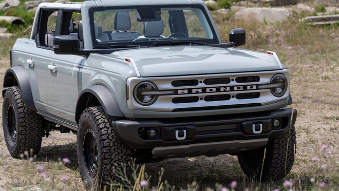 The four-door Ford Bronco.