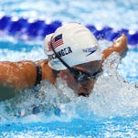 Hali Flickinger advances to semifinal in Olympic debut