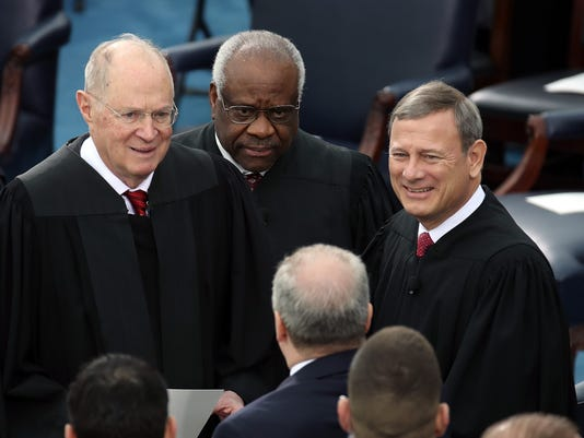 FILE - Supreme Court Justice Anthony Kennedy Announces Retirement