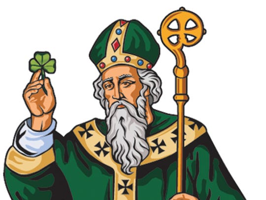 St. Patrick, patron saint of Ireland was born in Britain