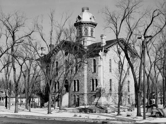 The Portage County courthouse in Stevens Point.