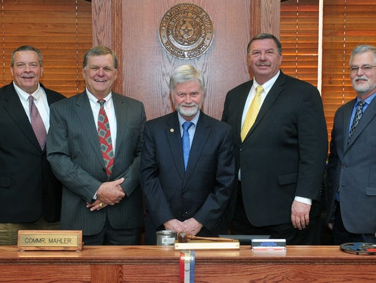 Wichita Co Commissioners Feb2017