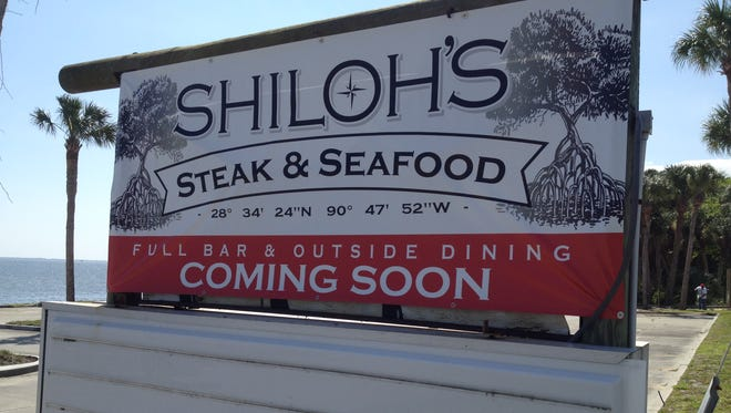 Shiloh's is going in the spot that for nearly four decades was home to Paul's Smokehouse along U.S. 1.
