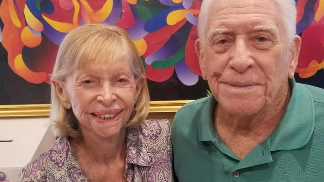 Left to right: Artis Price, 89, and Dr. Harry Price, 92, will be competing in this week's Water Ski National Championships at Okeeheelee Park.