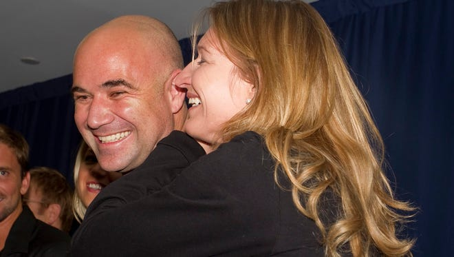 Andre Agassi's and Steffi Graf's son Jaden has committed to play baseball at Southern California.